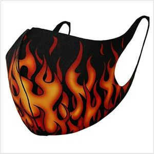 TRIBAL FLAMES- Premium Cotton Face Mask Adjustable